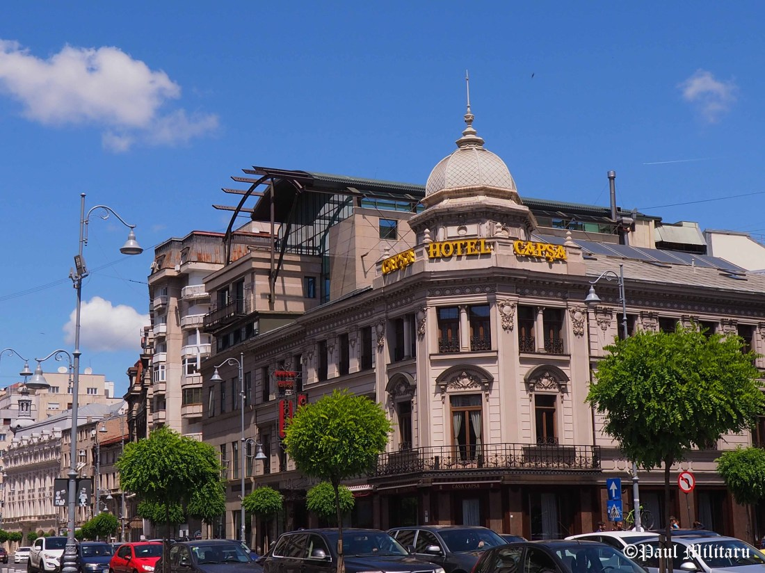 old architecture - capsa hotel from bucharest