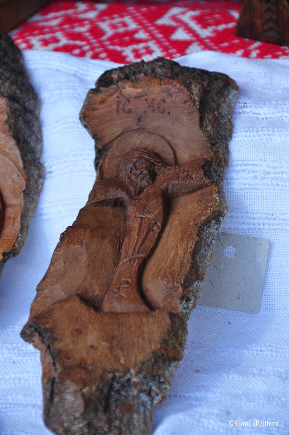 icons carved in tree bark 1