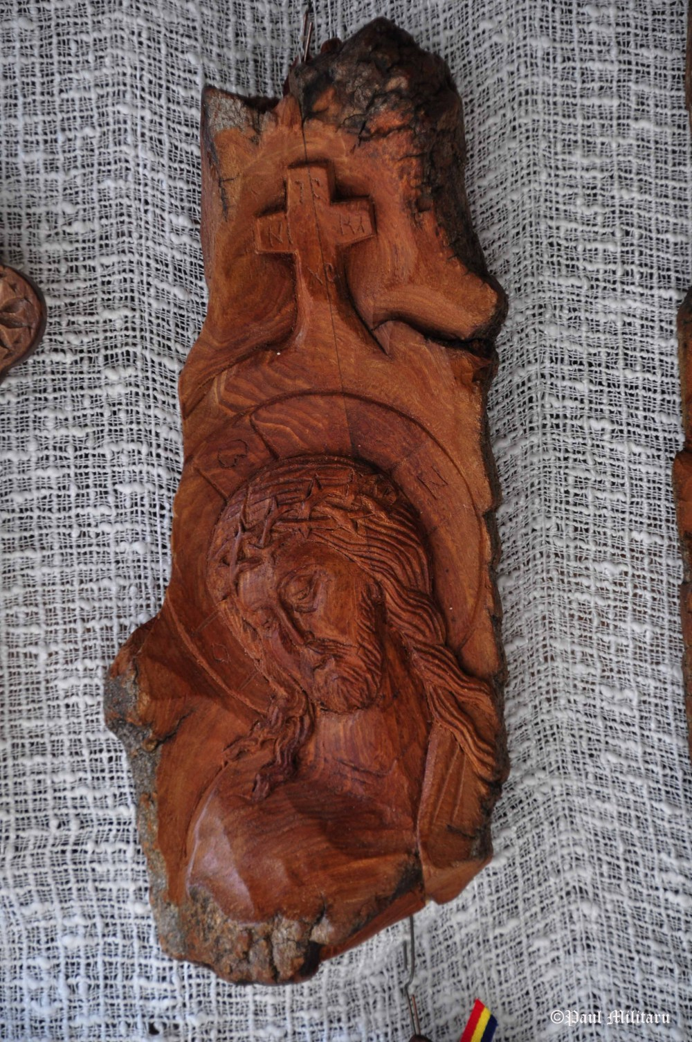 icons carved in tree bark 2