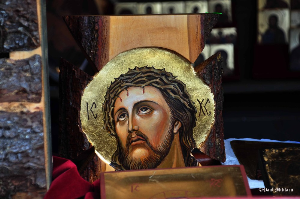 Our Lord Jesus on Good Friday - icon painted on wood