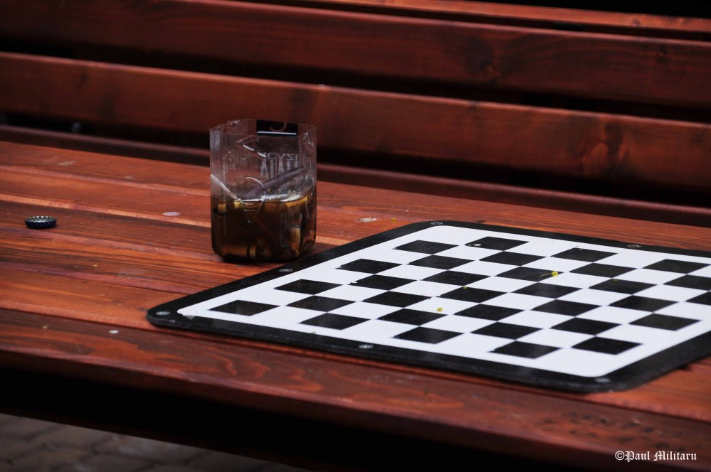 sometimes life is like an empty chessboard