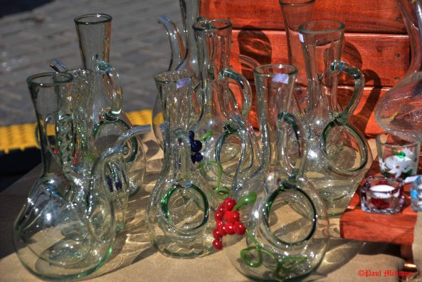 traditional glass objects