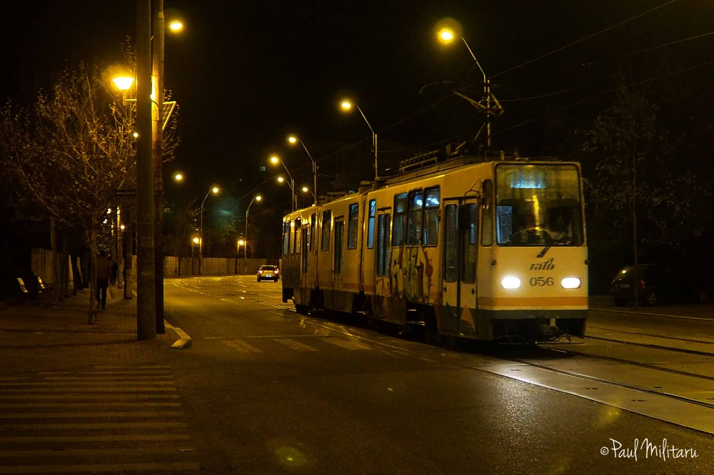 the last tram in the night