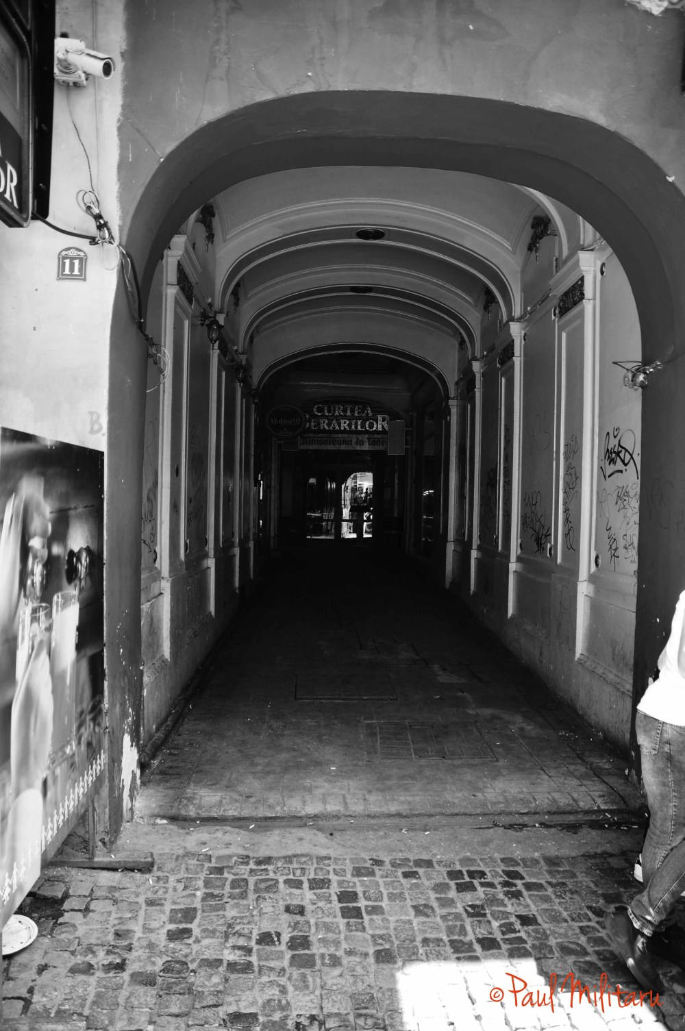 at the end of the hall