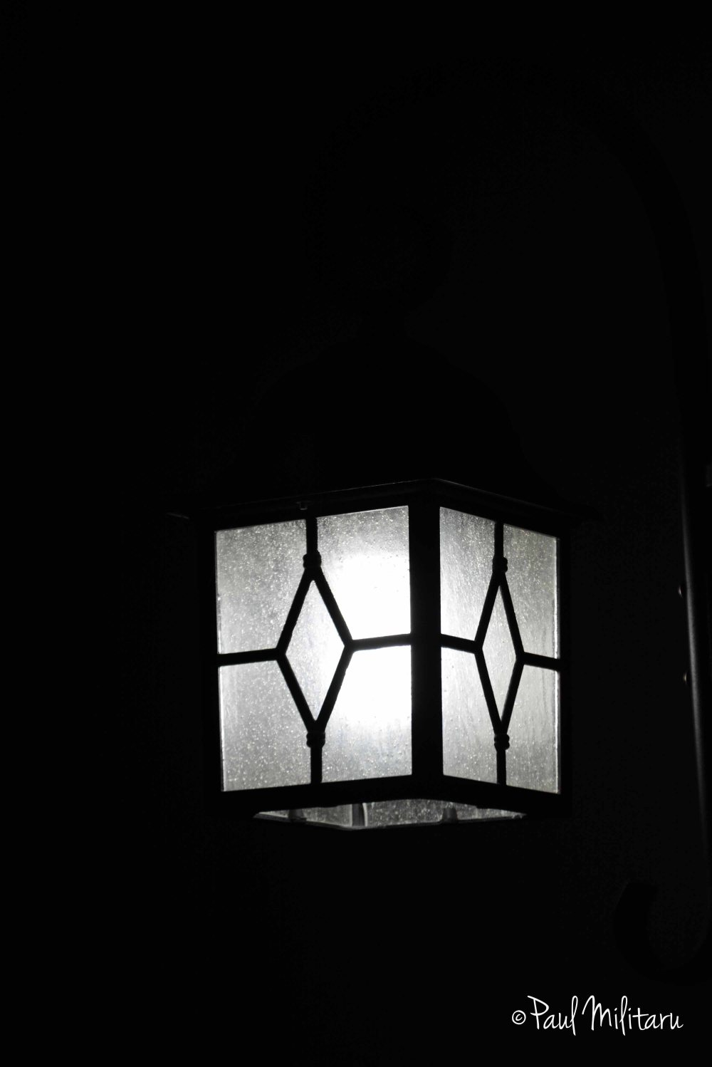 lamp in night