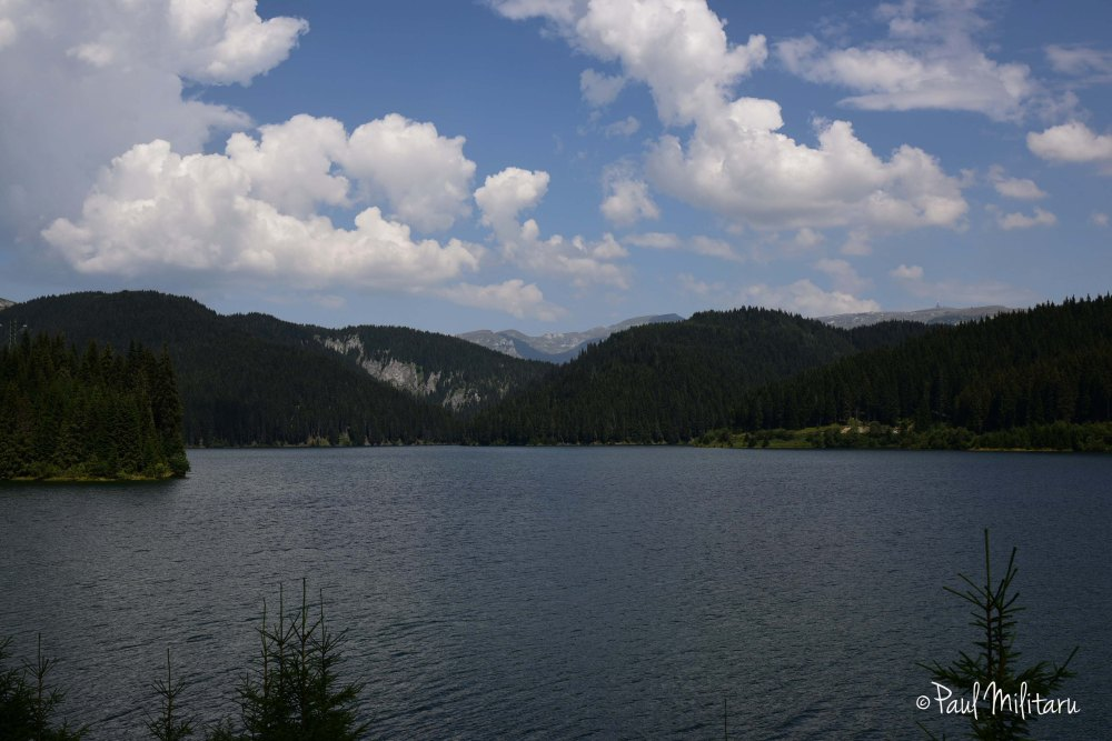 clouds over bolboci lake