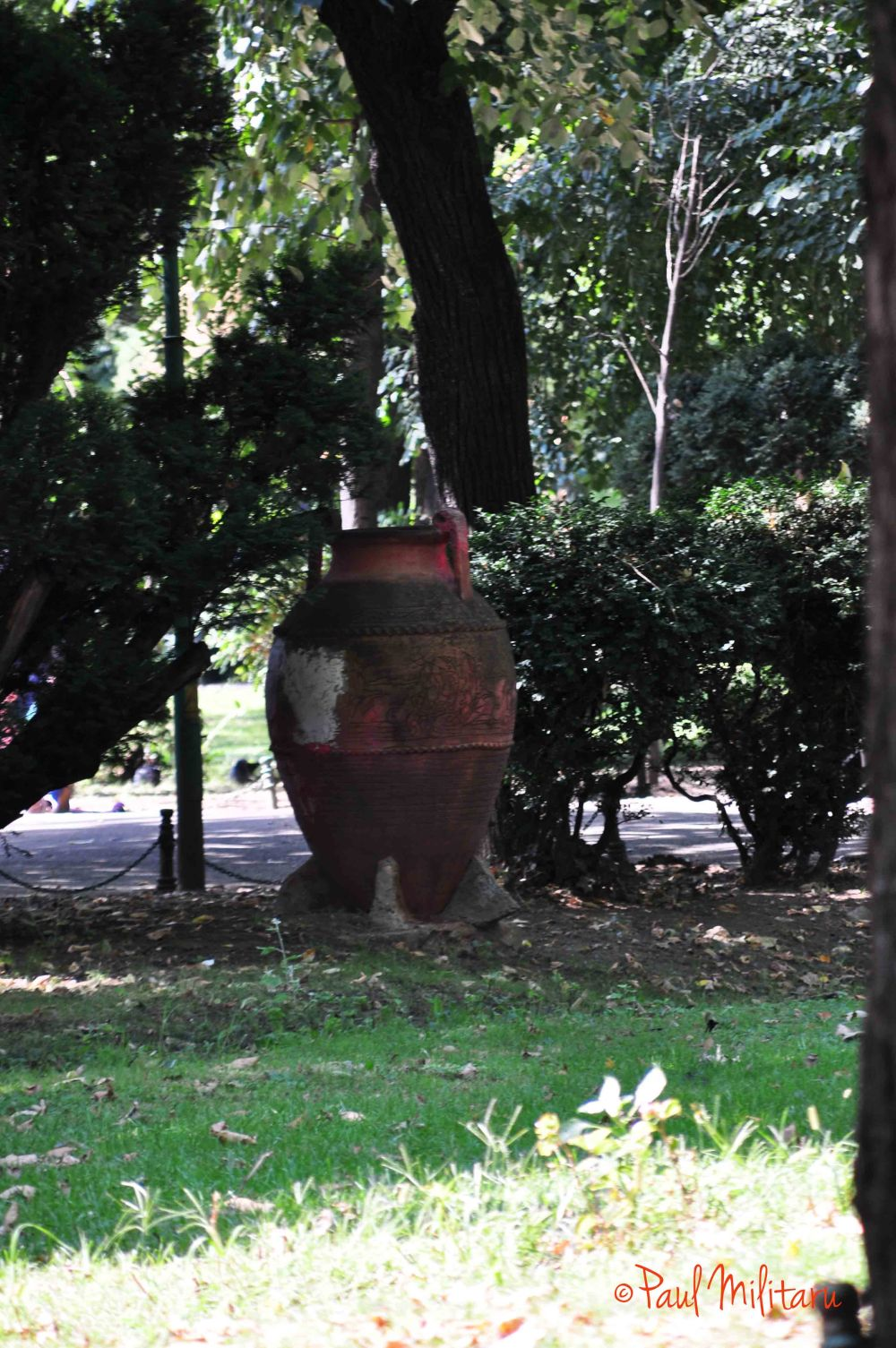 ornamental pot