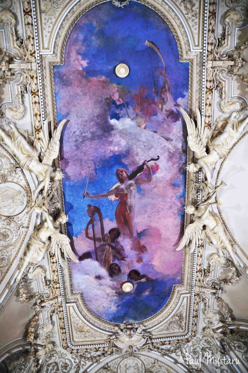 painted ceiling 1 - romantic period