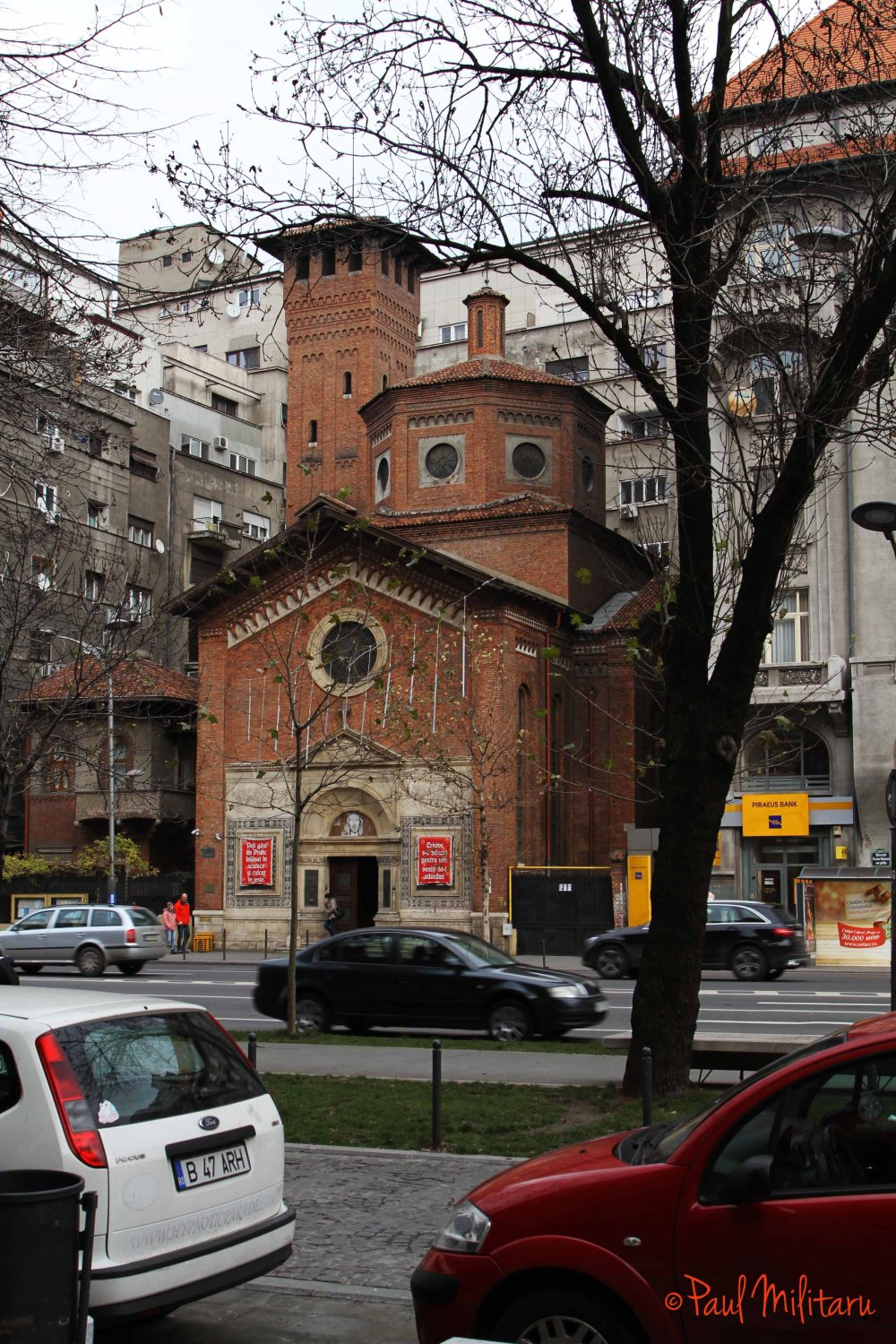 italian church from bucharest