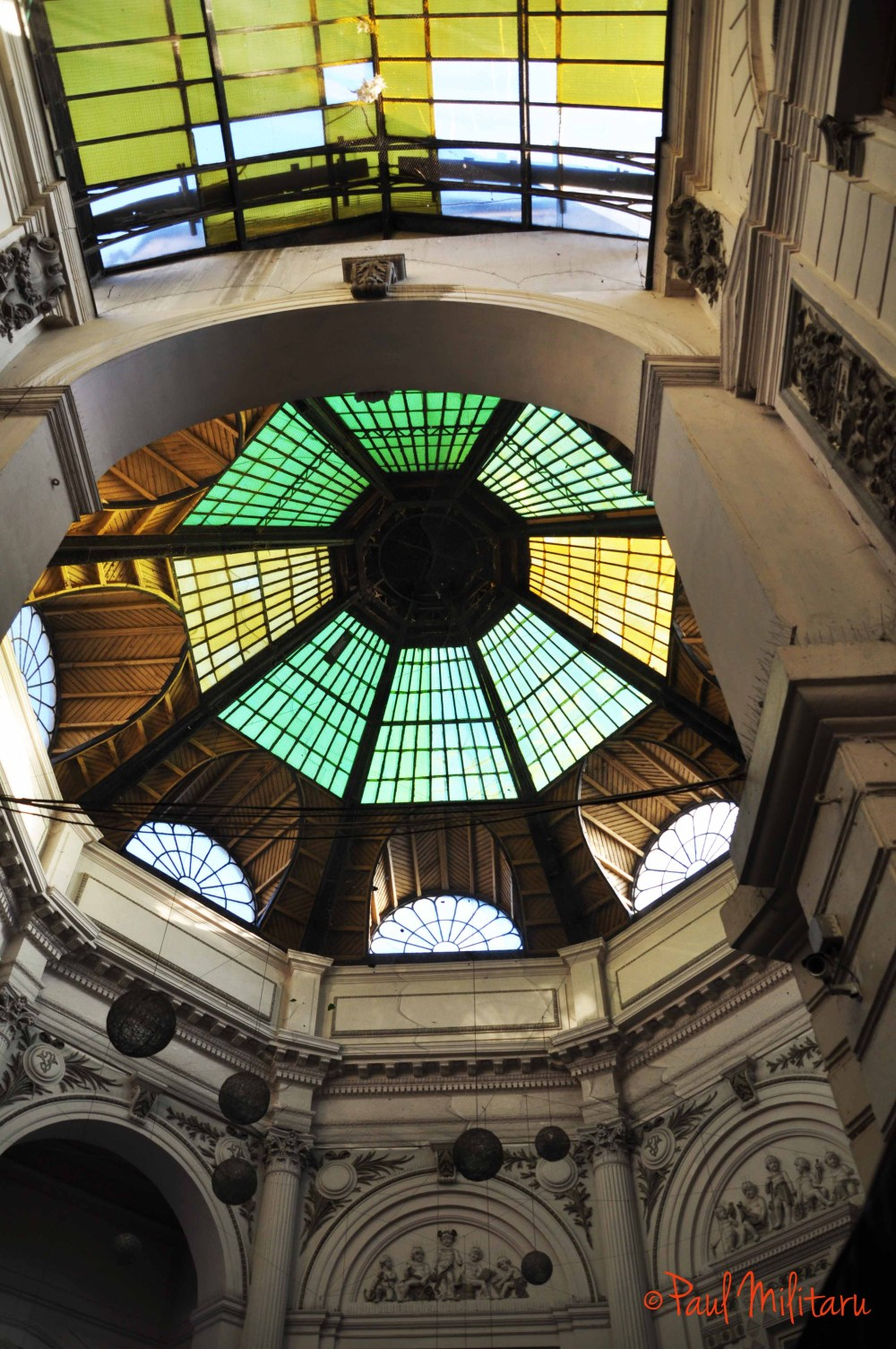 the dome of the French passage