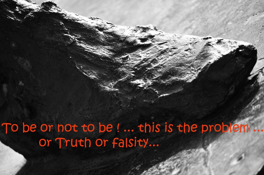 To be or not to be ... this is the problem ... or Truth or falsity - Copy
