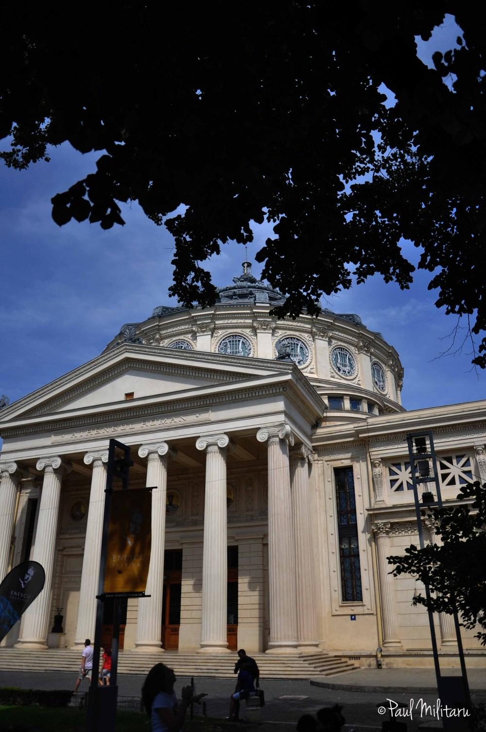 Bucharest - the Romanian Athenaeum