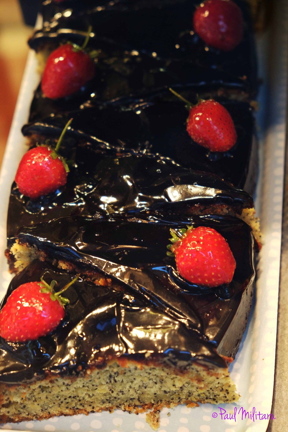 chocolate and strawberry cakes