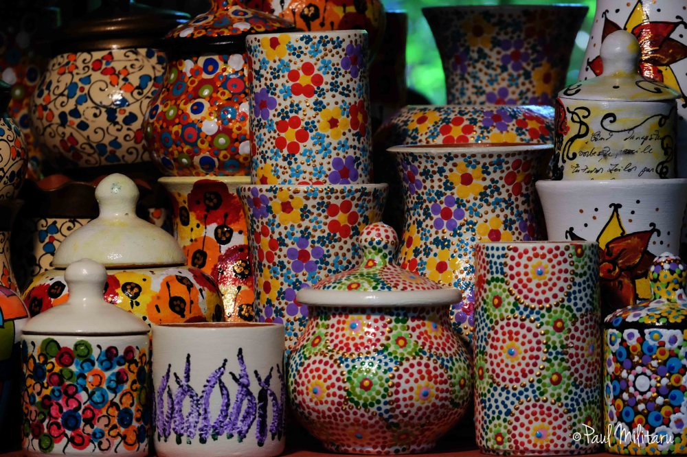 romanian ceramic pottery