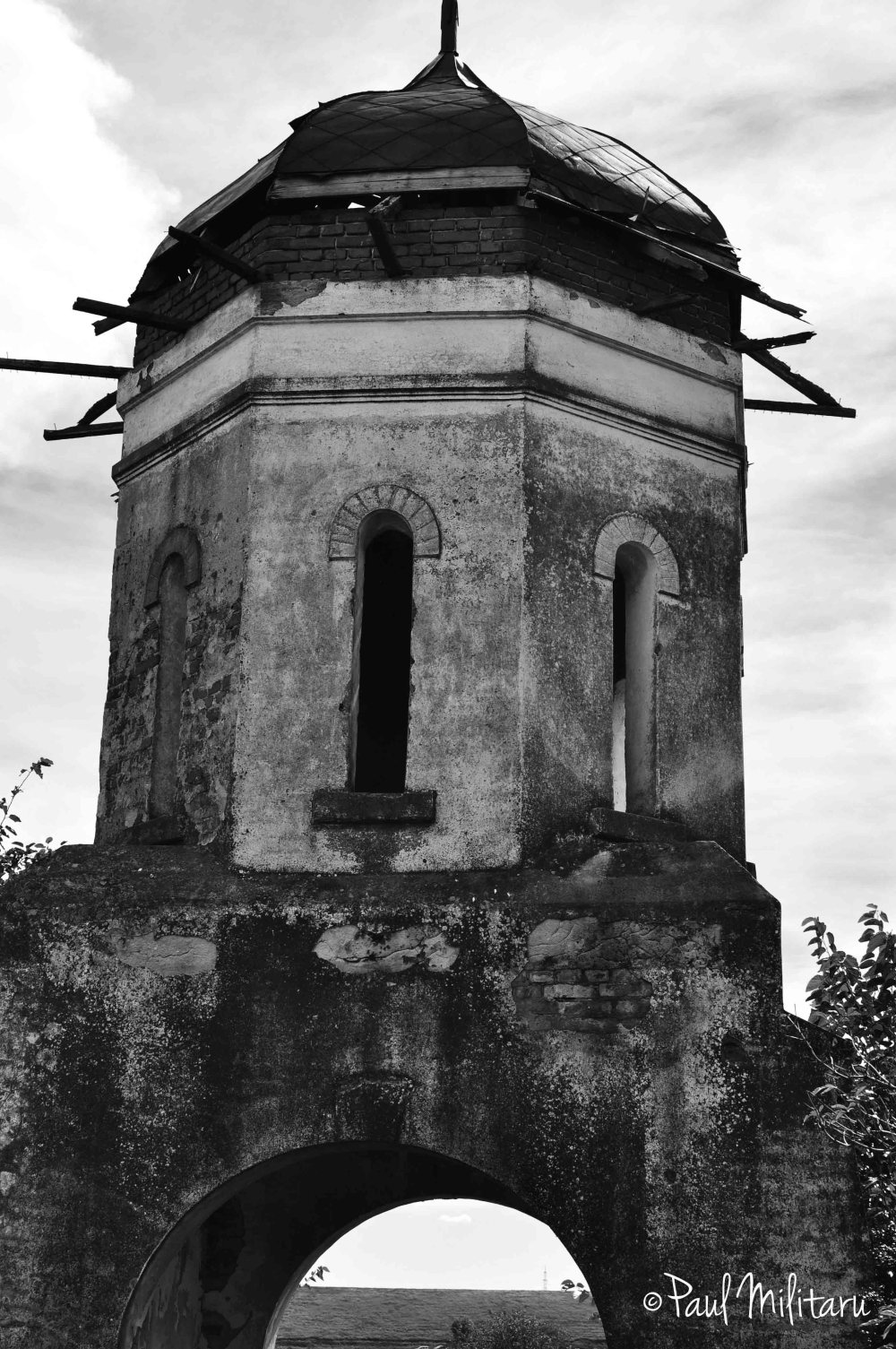 forgotten bell tower over time