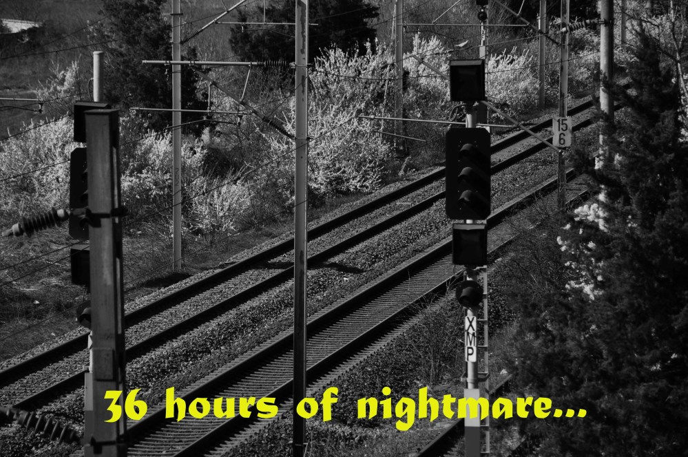 36 hours of nightmare