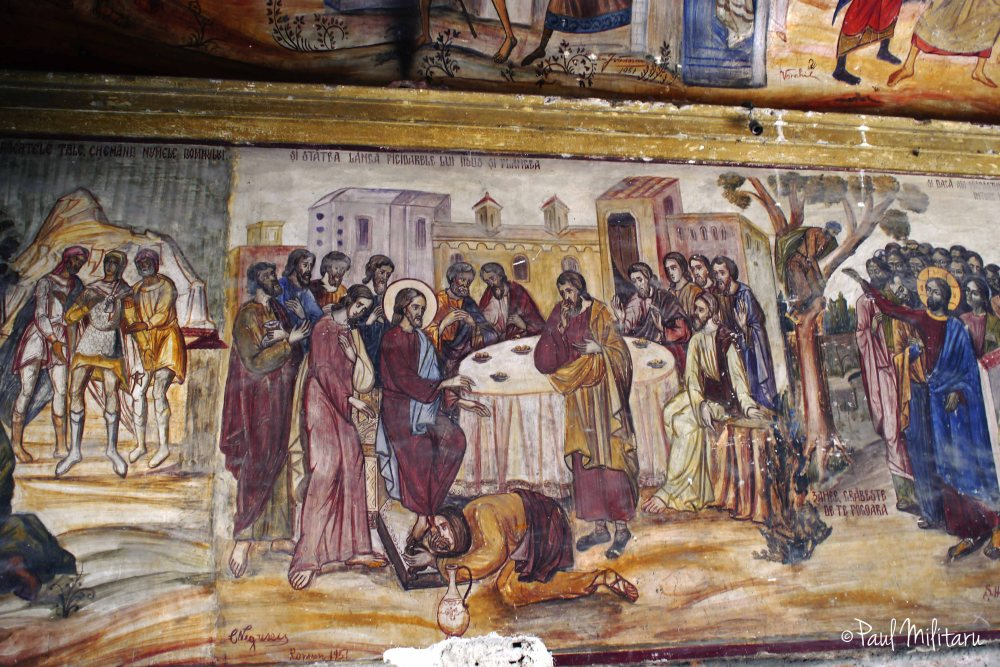 biblical decorative mural painting