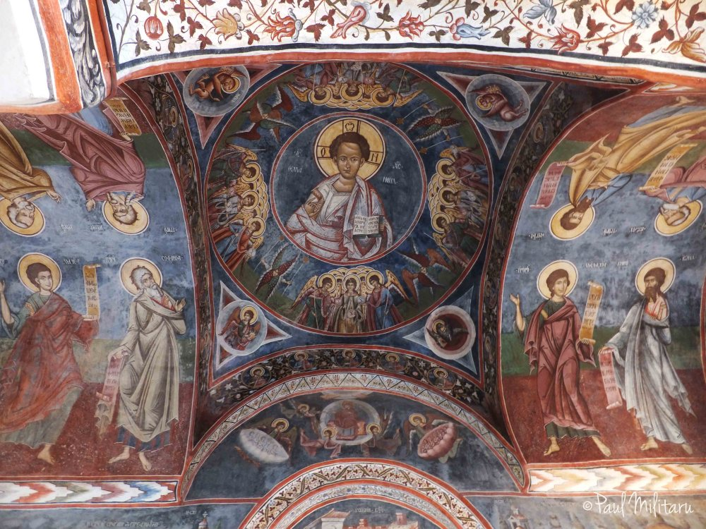 fresco from Polovragi church