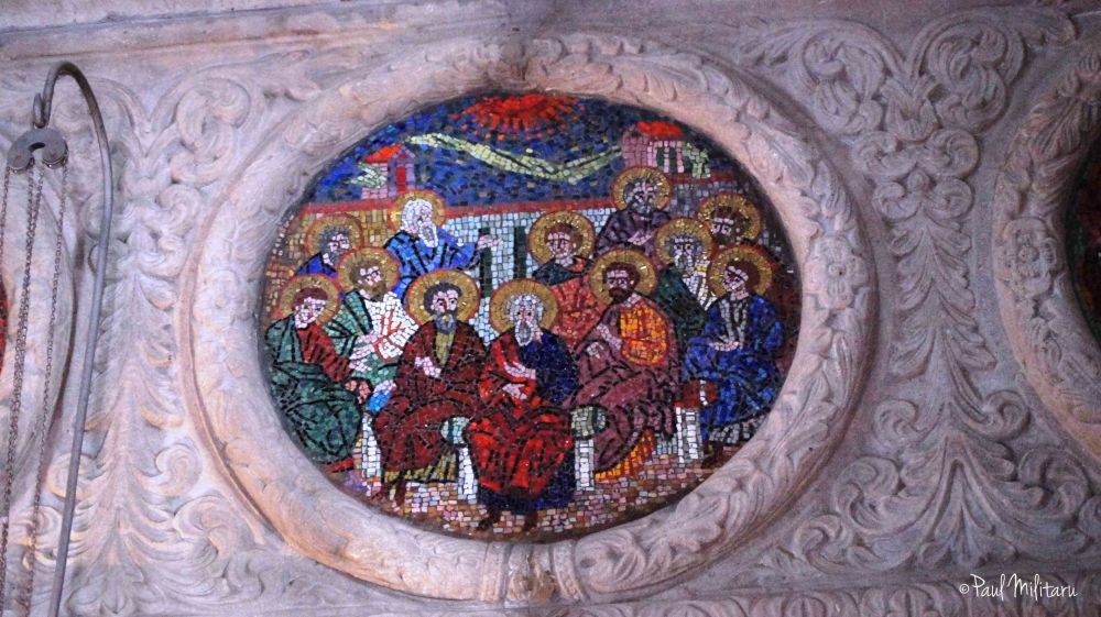 very old mosaic icon
