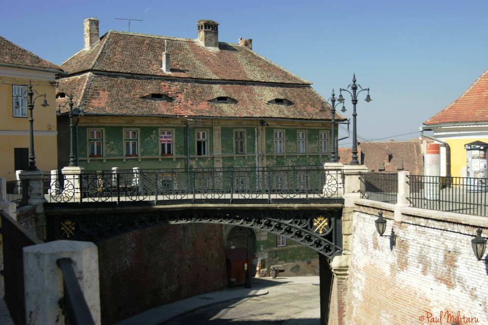The bridge of Lies from Sibiu