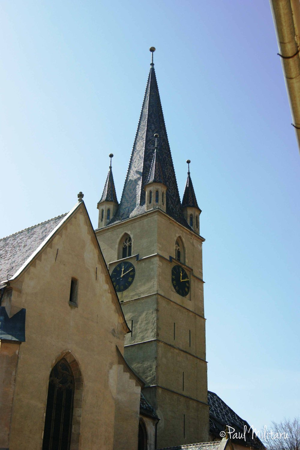 Tower of the Evangelical Church in Sibiu
