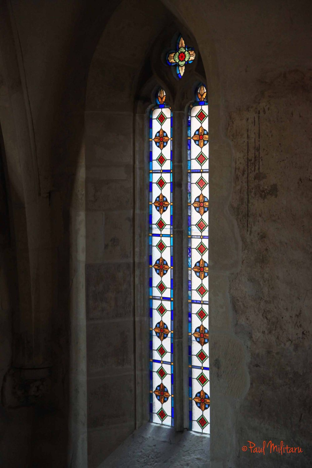 window in stained glass