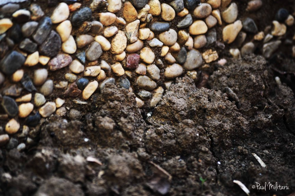 stone and earth