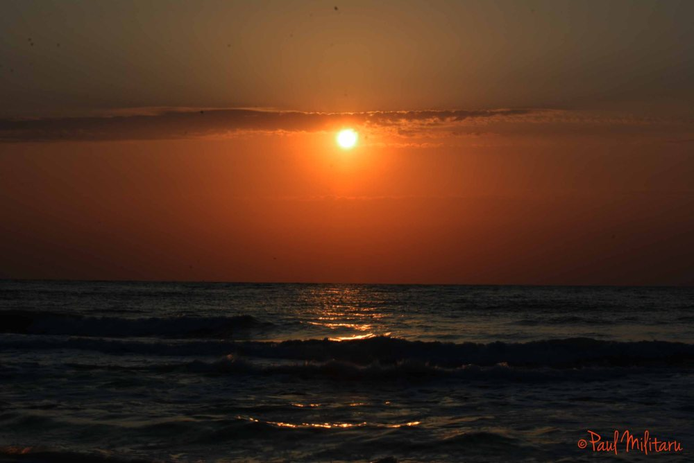 sunrise at Black sea