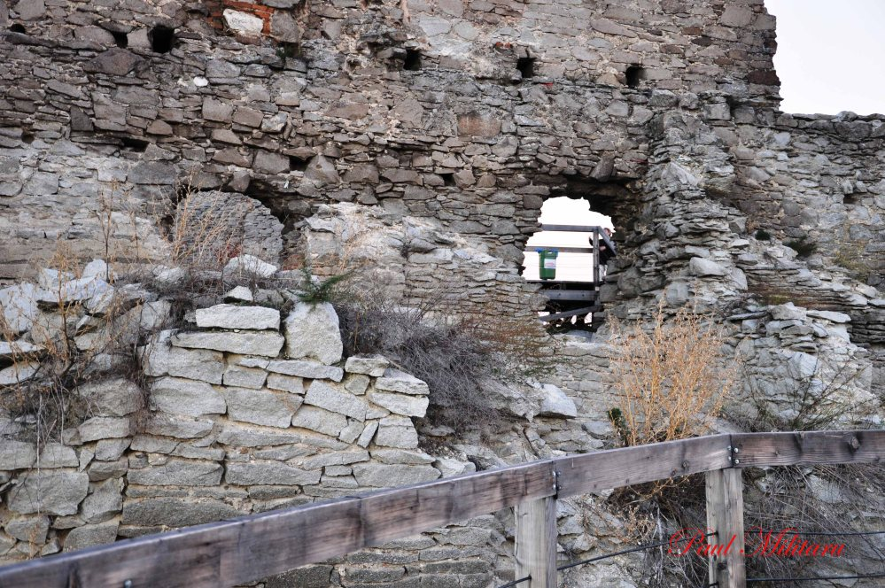 the fortress Deva from 13th century-inside