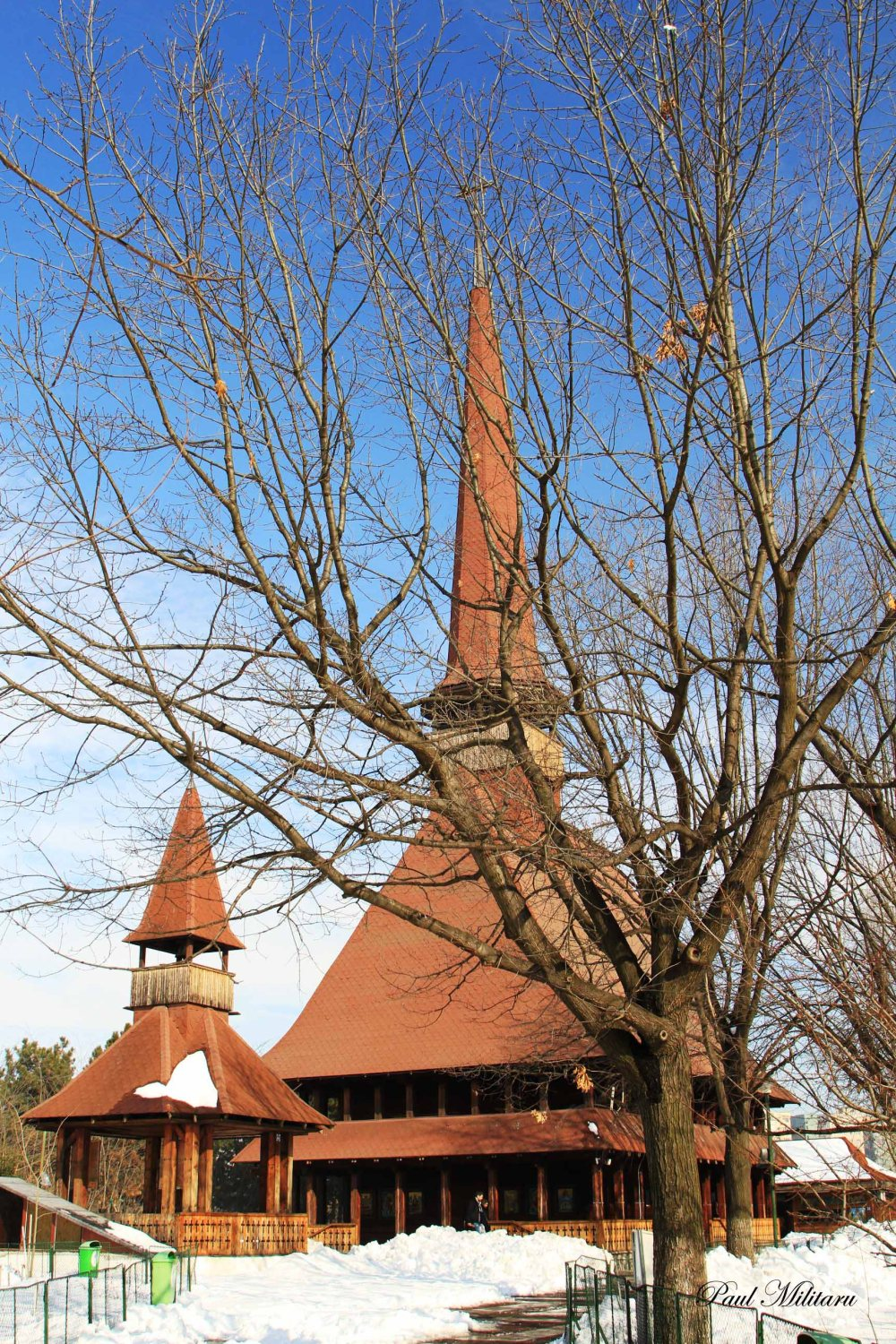 Maramures church made of wood