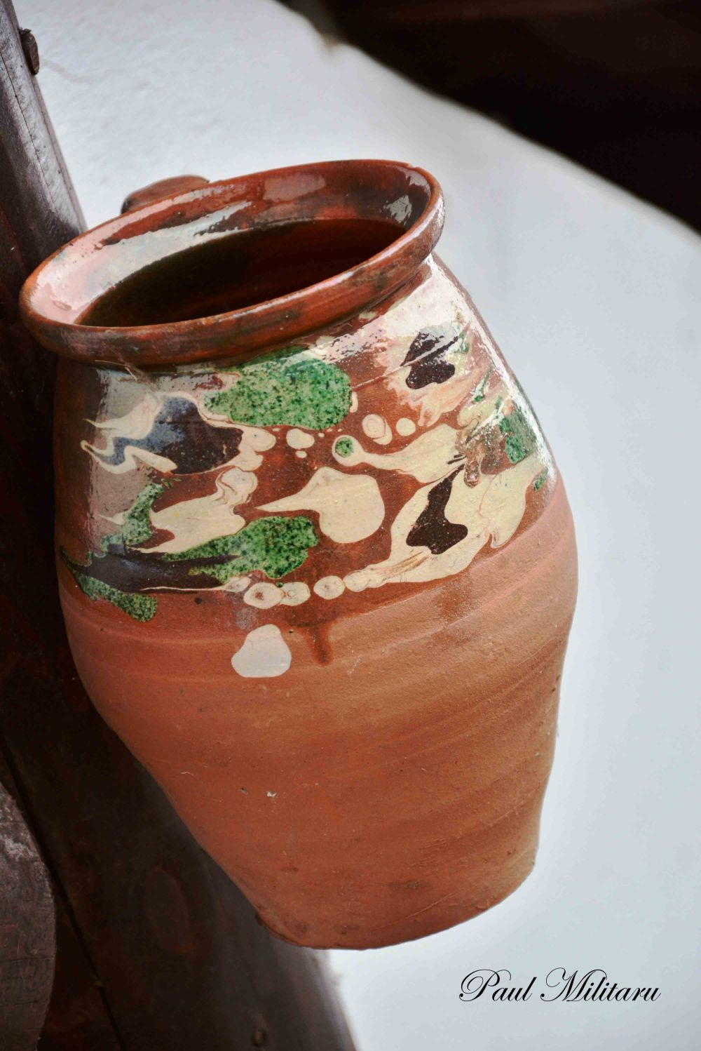 Romanian ceramics - carafe of wine