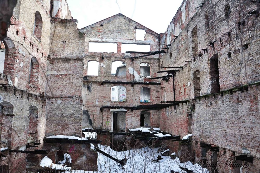 the ruins of Assan's mill