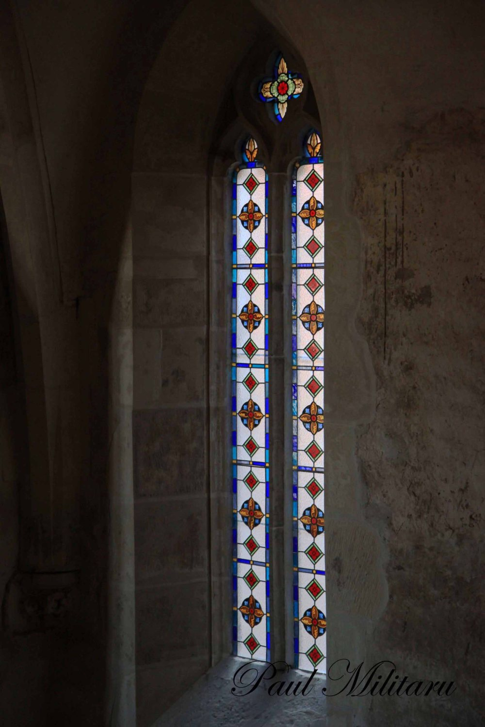 ancient stained glass