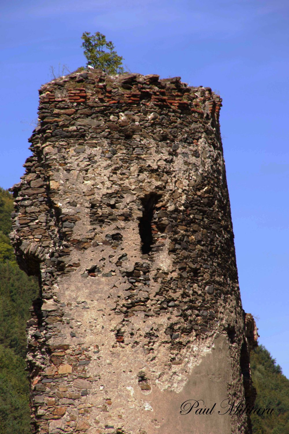 broken tower near Sibiu