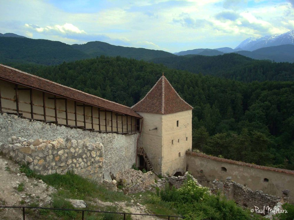 Rucar-Bran fortress defense fort