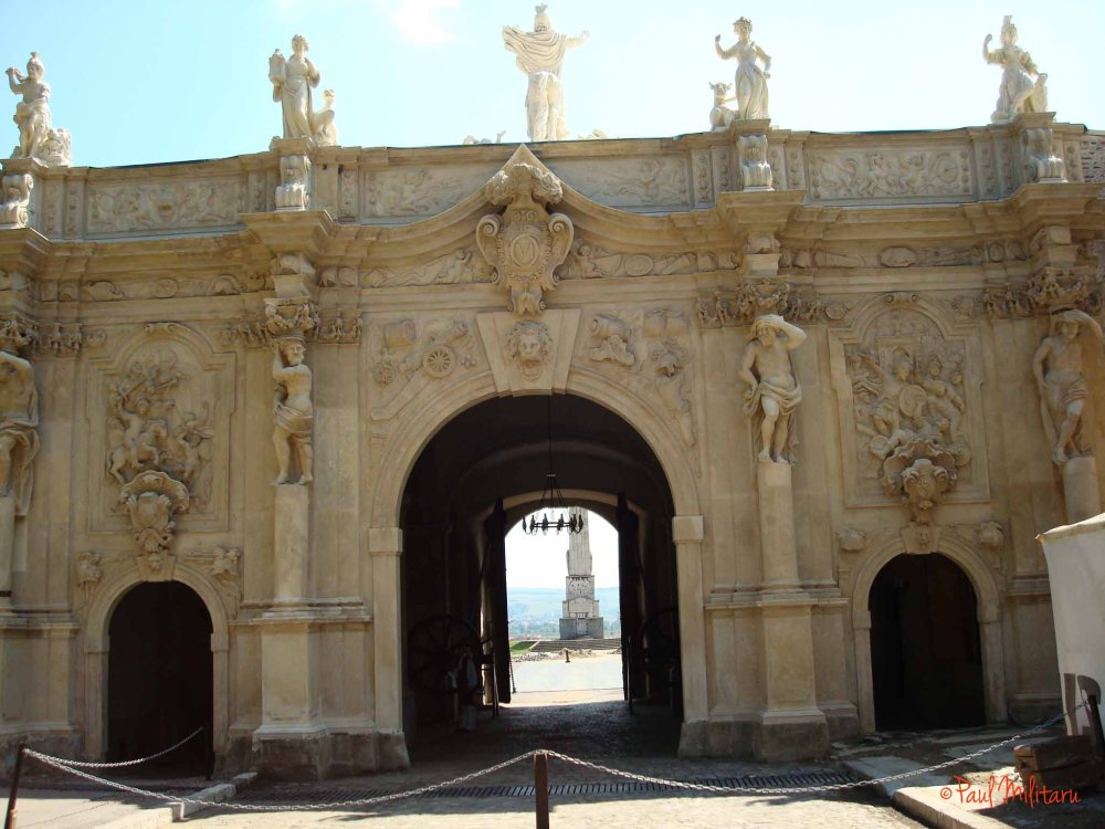 the main gate from the fortified fortress Alba Iulia 1