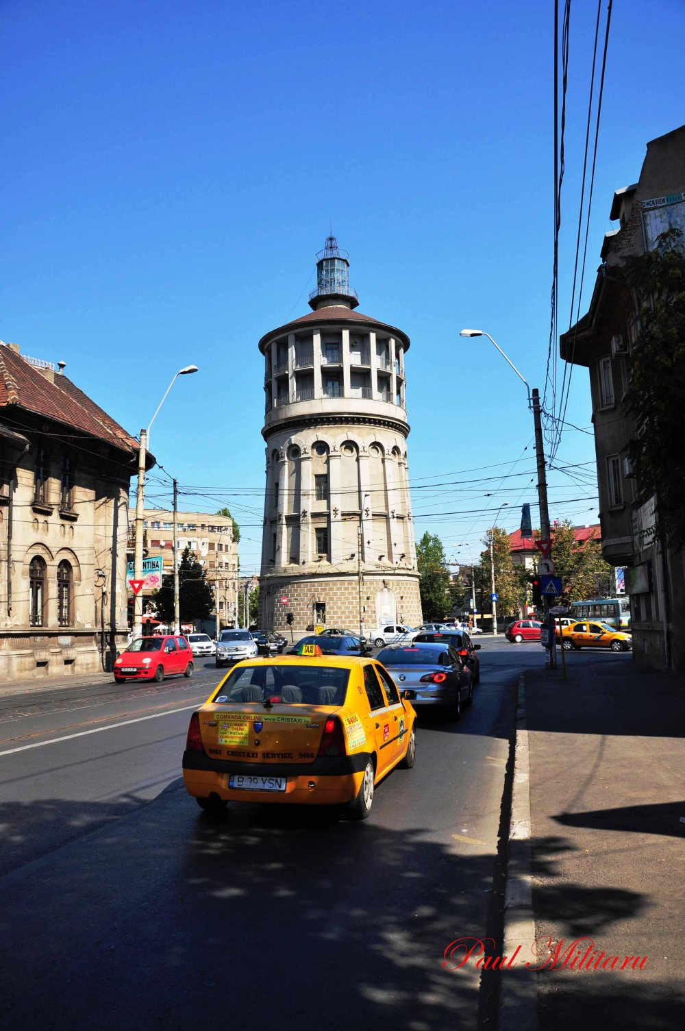 Bucharest - Fire Tower (1890)